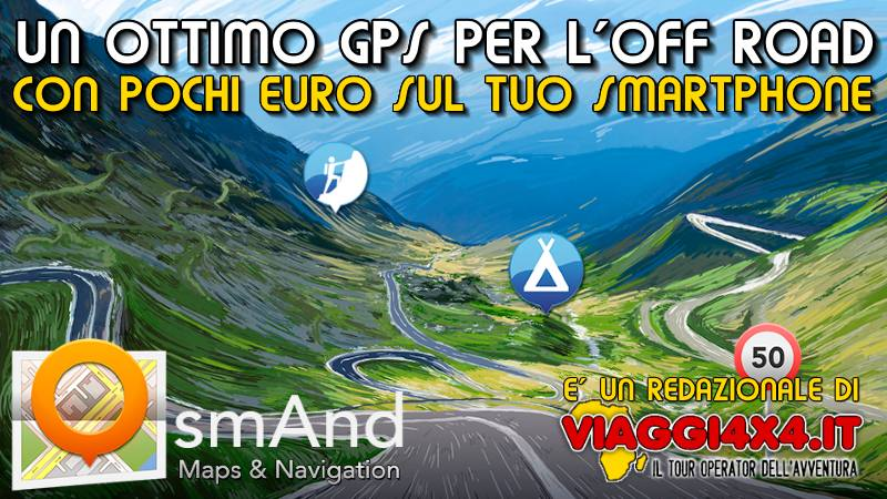 GPS OsmAnd, un eccellente navigatore per il fuoristrada su telefoni e smartphone